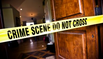 Crime Scene at Residential Home