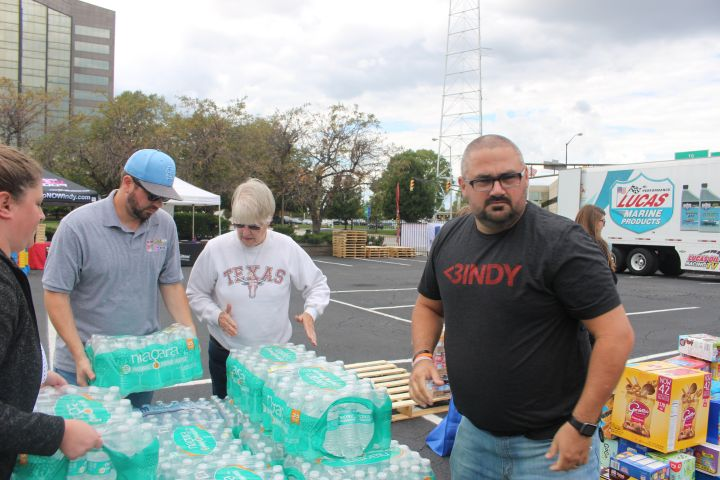 Hoosiers Helping Houston [PHOTOS]