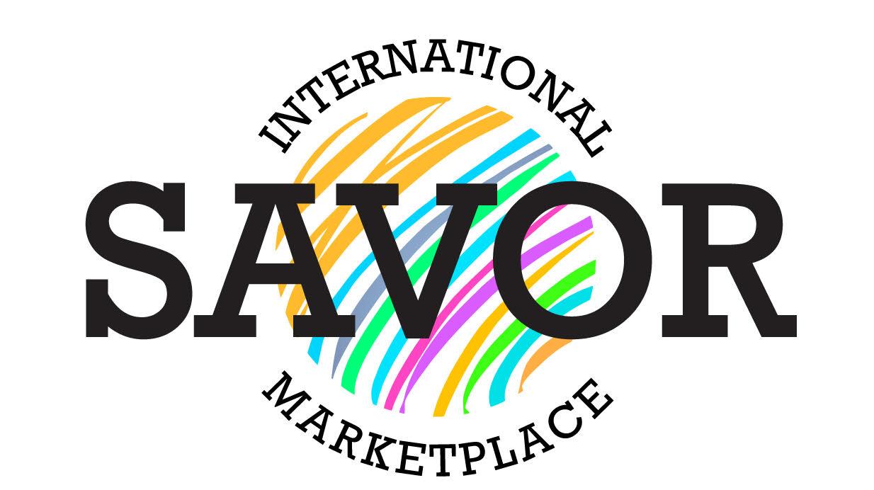Savor the International Marketplace Graphics