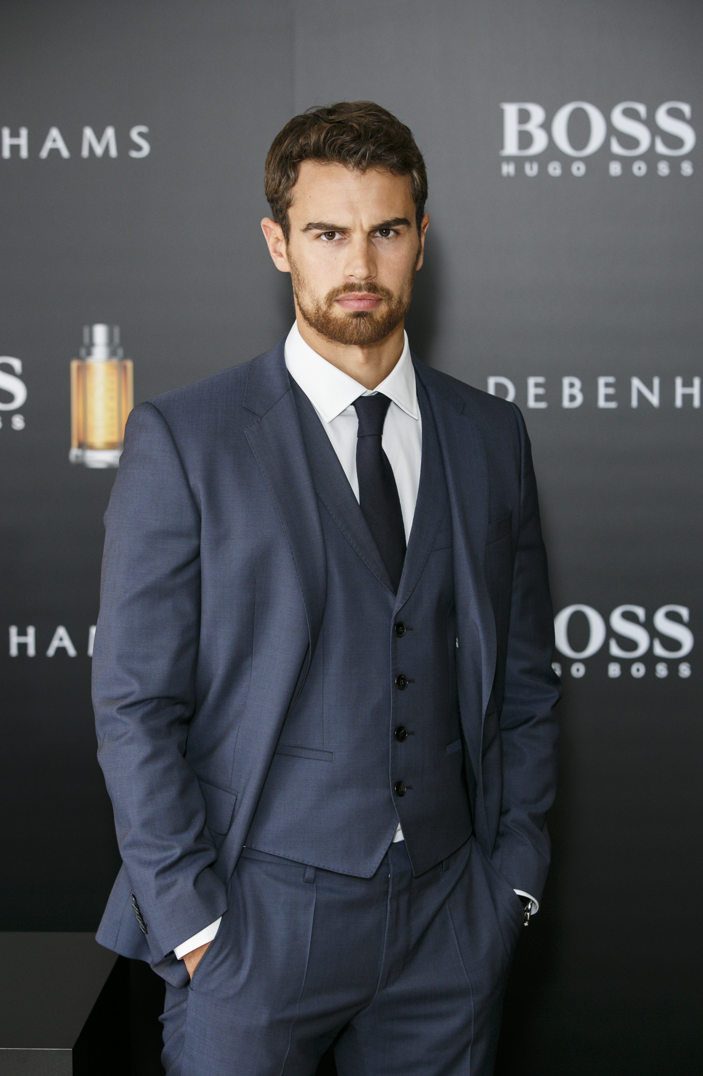Theo James Announced As The New Face of Boss The Scent