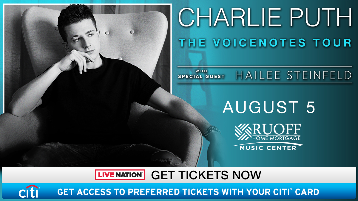 Charlie Puth Indy Flyer
