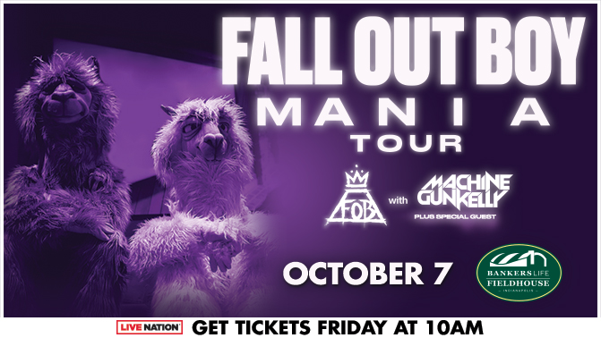 Fall Out Boy Indy Flyer