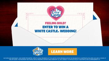 The Joe & Alex Show's White Castle Wedding Graphic