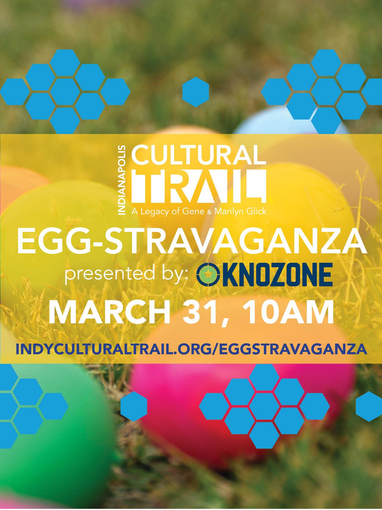 Cultural Trail Egg-Stravaganza 2018 Flyer