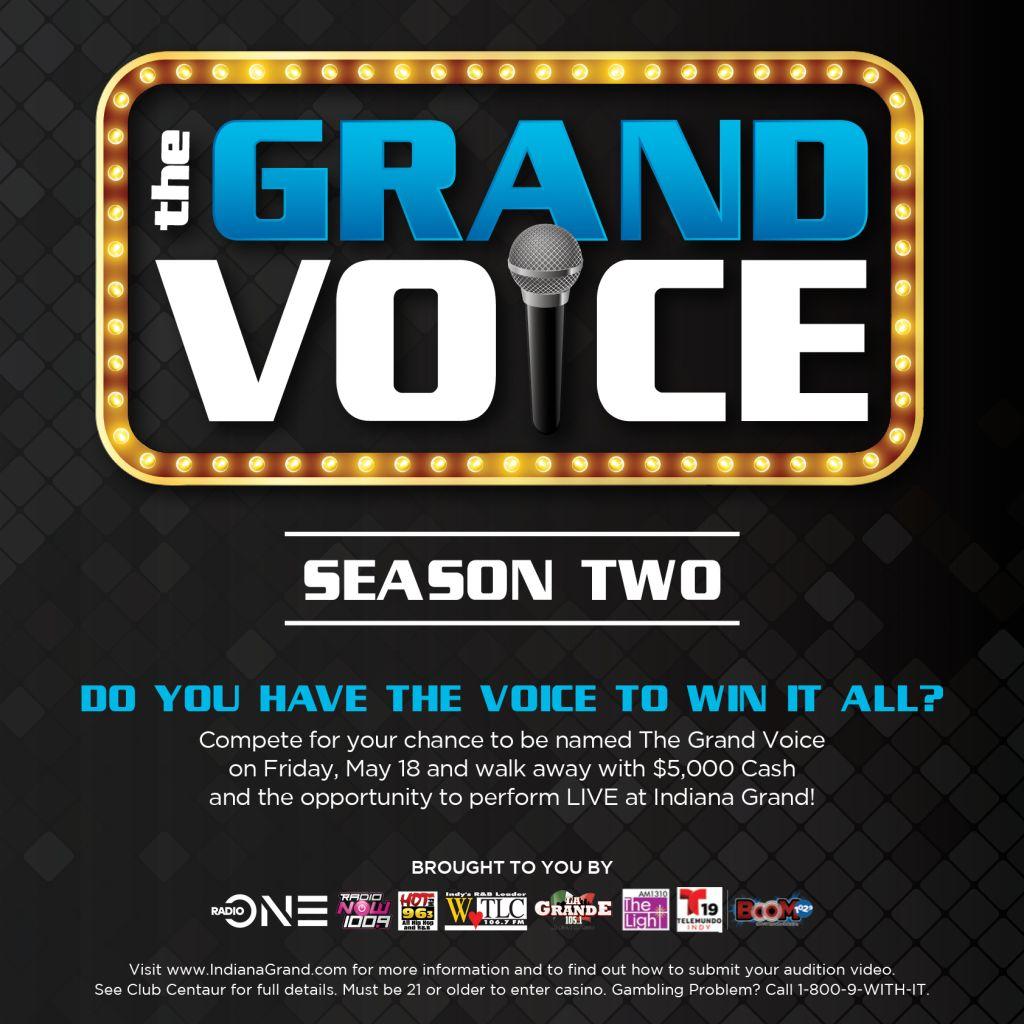 Grand Voice- Season Two Graphics