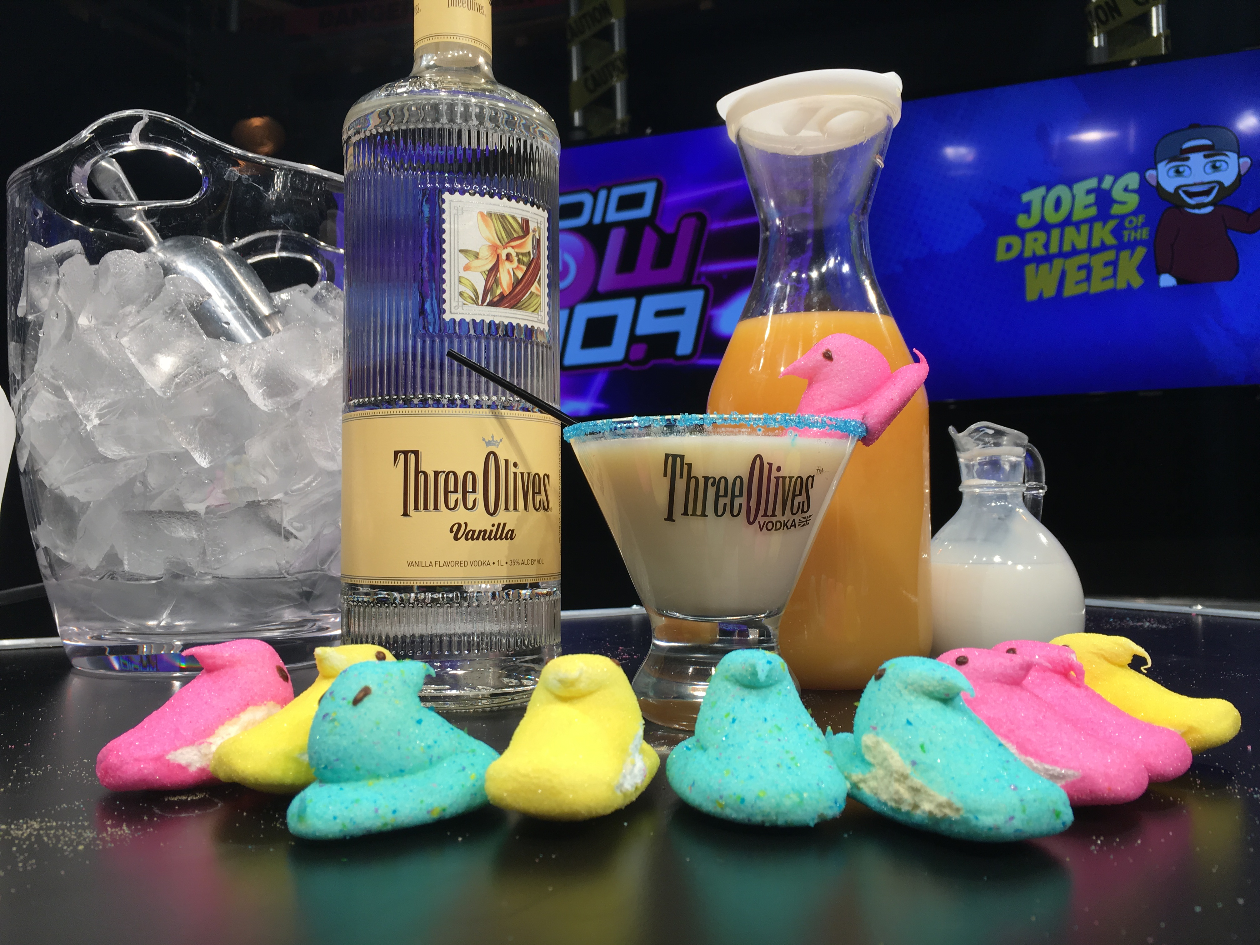 Joe's Drink of the Week: The Peeptini