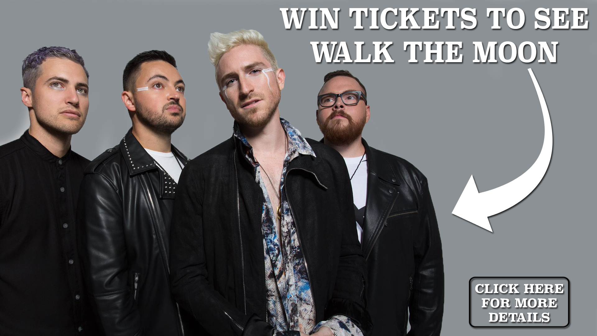 Win Tickets to see Walk The Moon