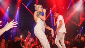 G-Eazy Surprise Guest With Halsey Live Performance At E11EVEN Miami