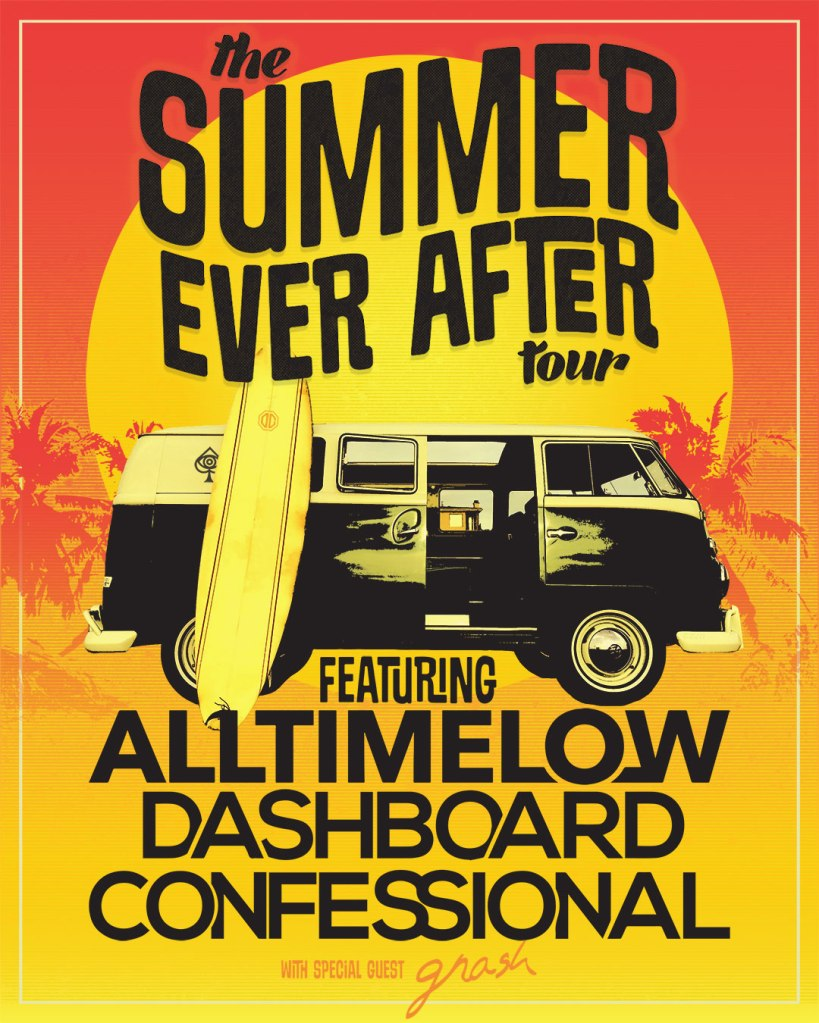 The Summer Ever After Tour Flyer