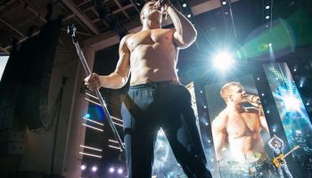 Dan Reynolds Shirtless (Imagine Dragon Photos-Indy)