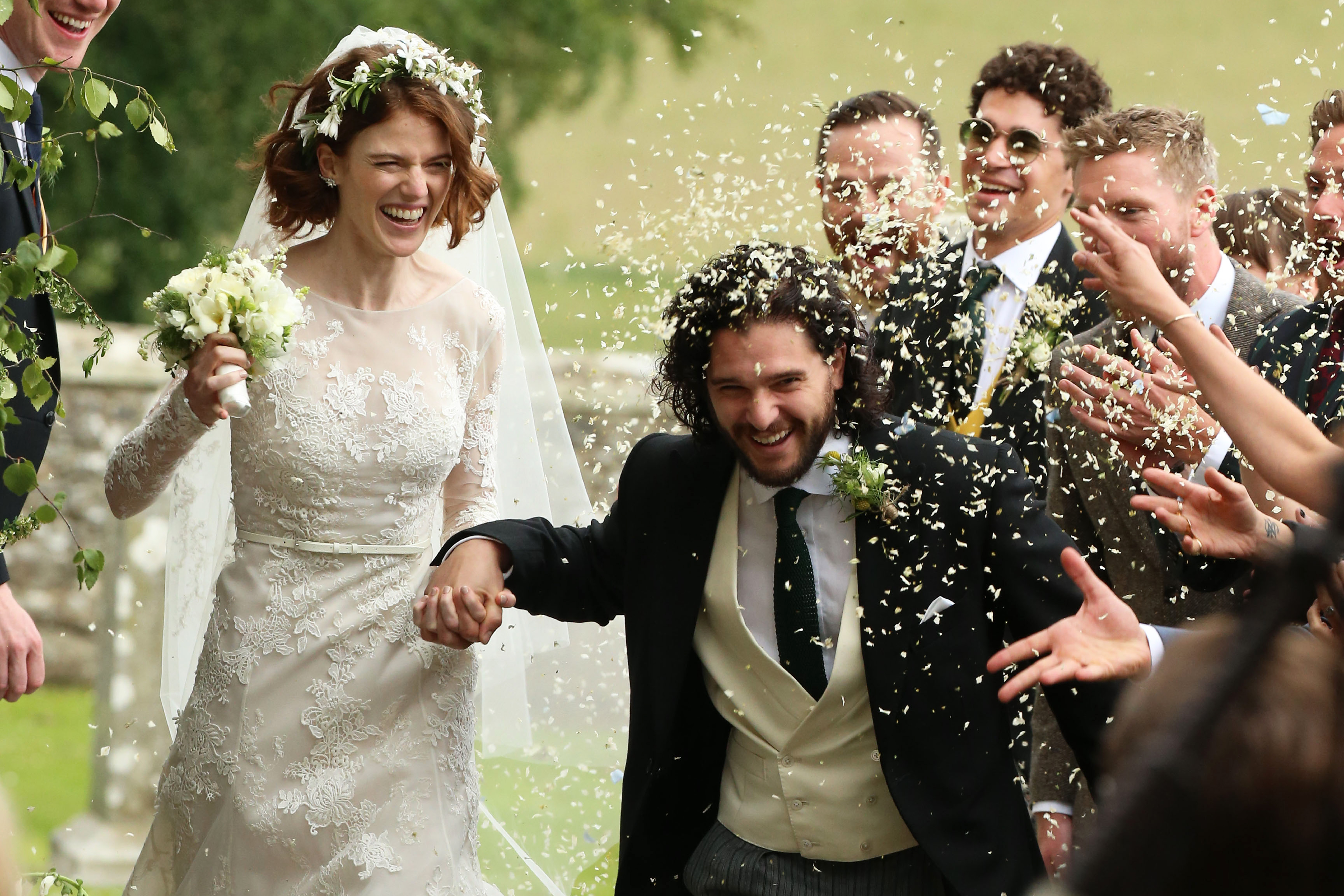 Kit Harrington and Rose Leslie's Wedding [PHOTOS]
