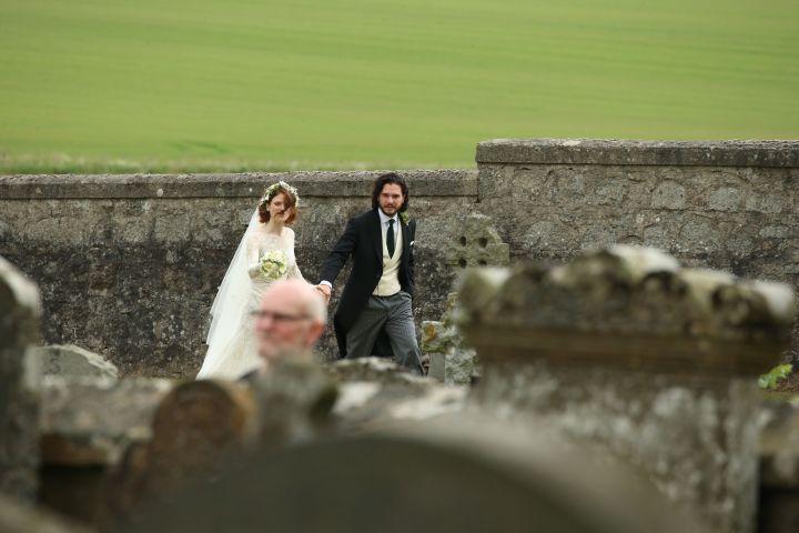 Kit Harrington and Rose Leslie's Wedding [PHOTOS]