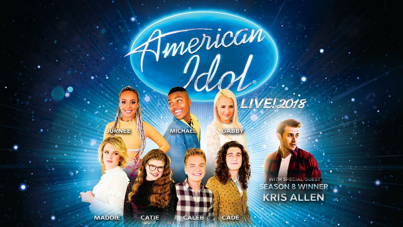 AMERICAN IDOL: LIVE! 2018 Tour Graphic