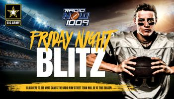 Radio Now Friday Night HS Football Blitz Graphic
