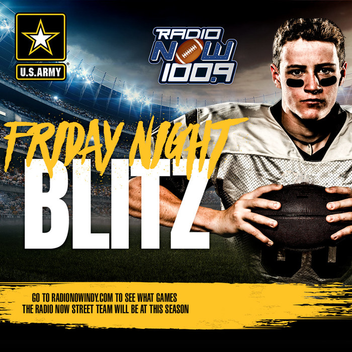 Radio Now Friday Night HS Football Blitz Graphic