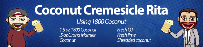 JDOTW - Coconut CremesicleRita