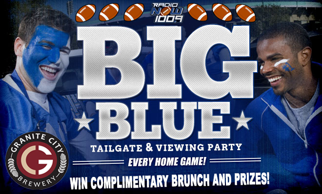 Big Blue Tailgate Graphic