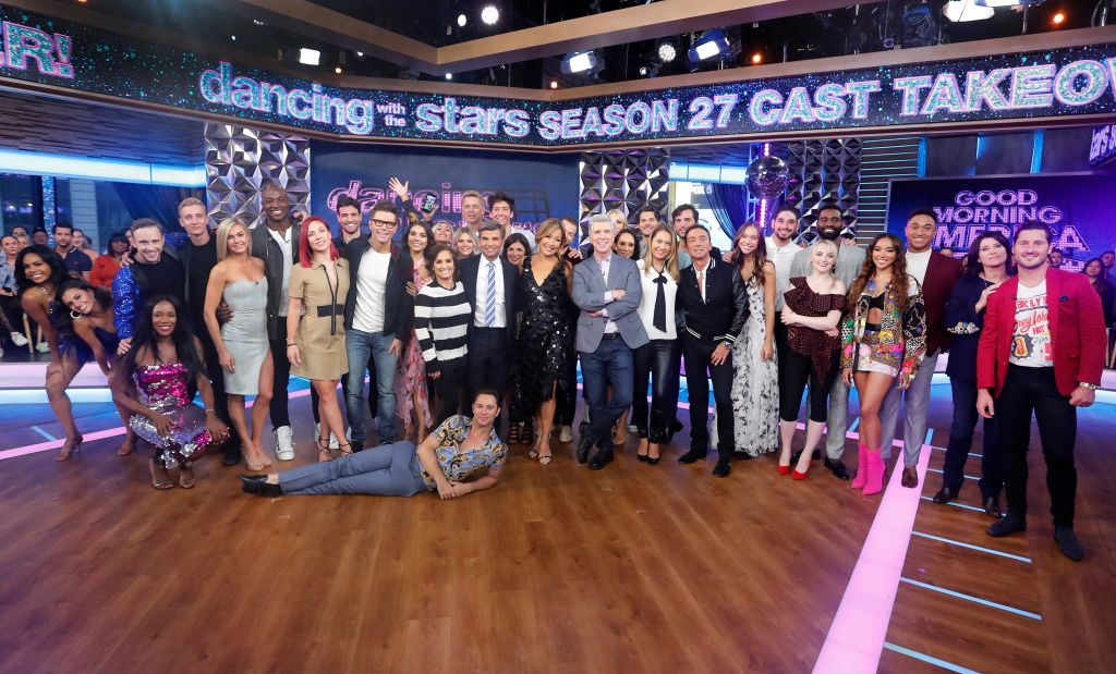 DANCING WITH THE STARS SEASON 27 CAST