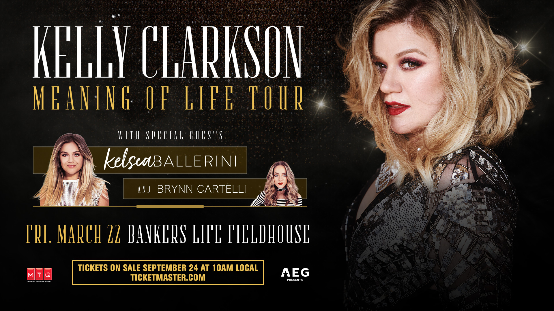 Kelly Clarkson: Meaning of Life Tour Graphics