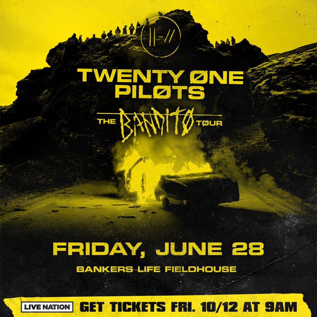 Twenty One Pilots Indy Flyer