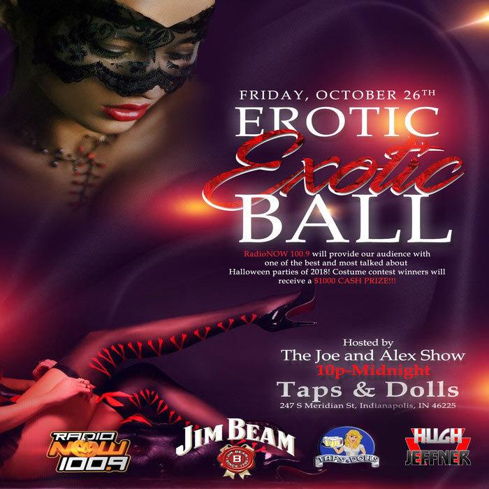 Erotic Exotic Ball October 2018