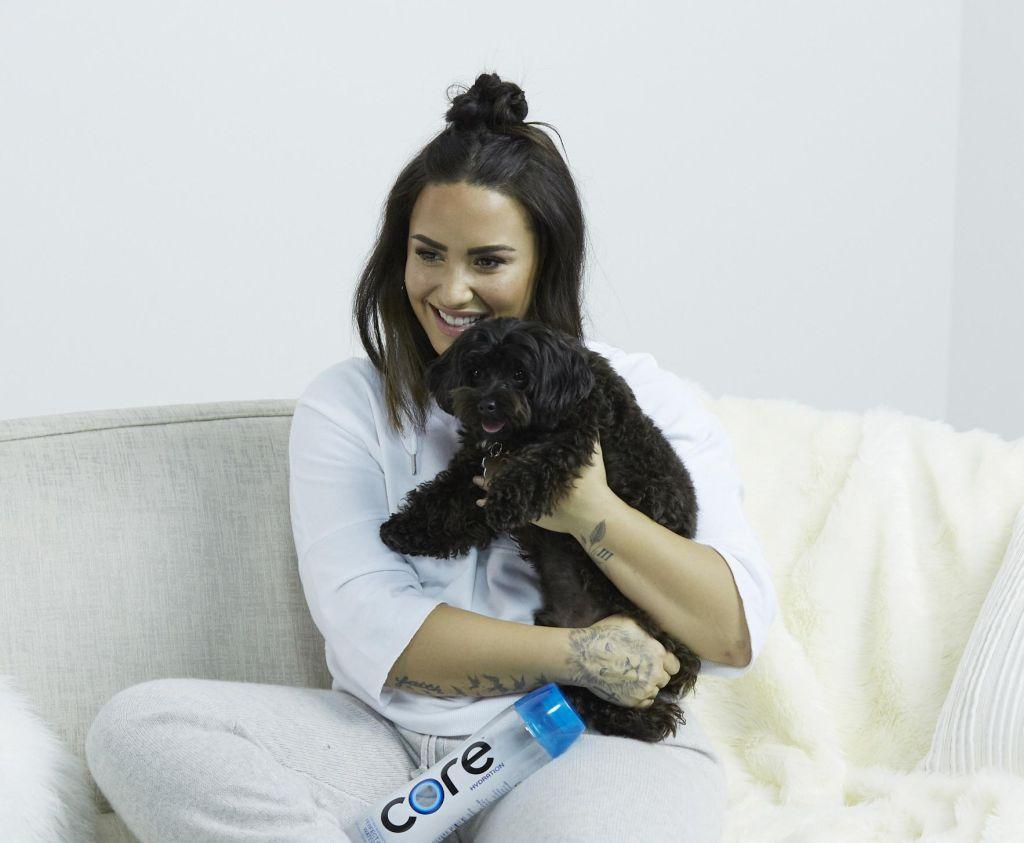 Demi Lovato for CORE Hydration
