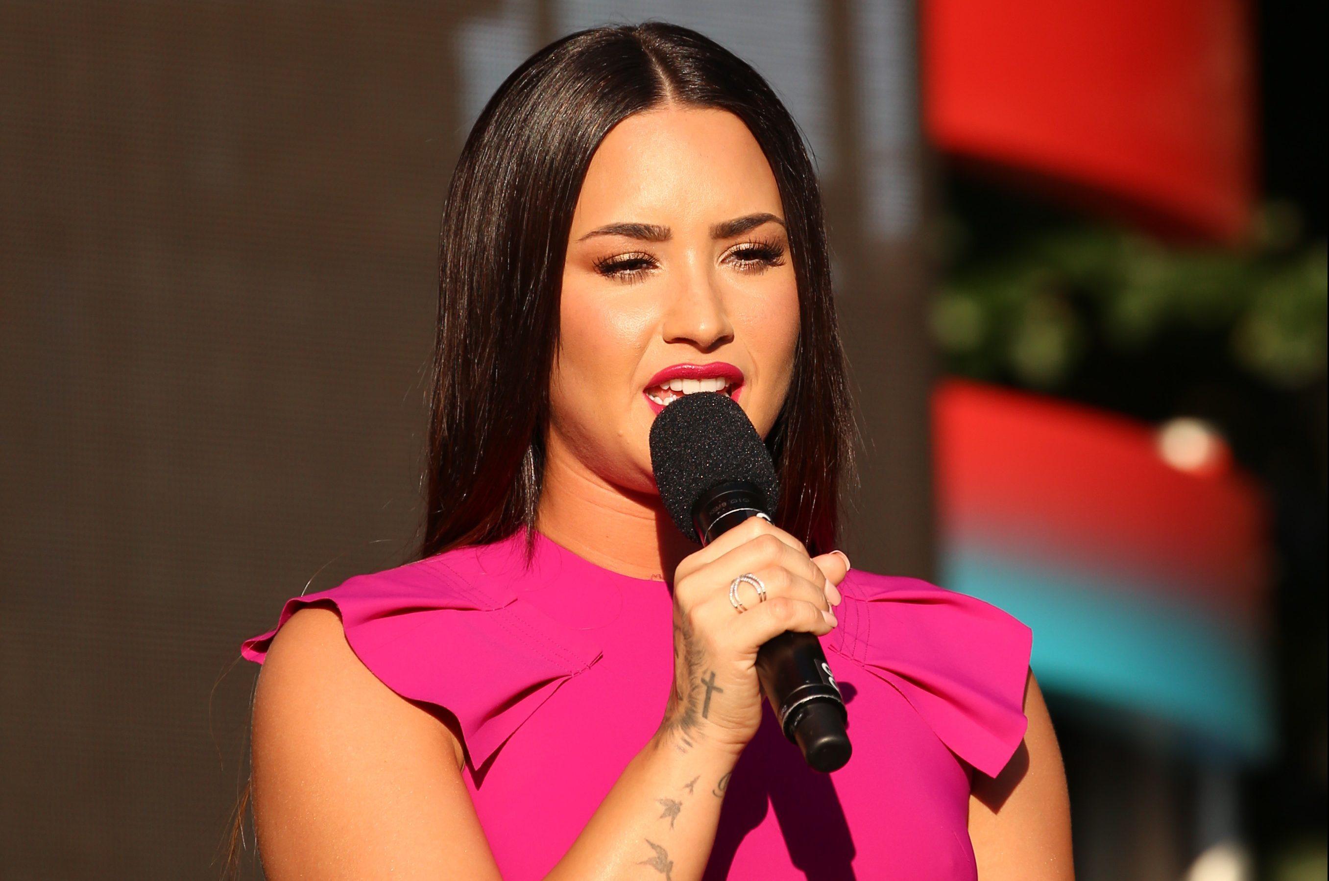 Demi Lovato at 2017 Global Citizen Festival