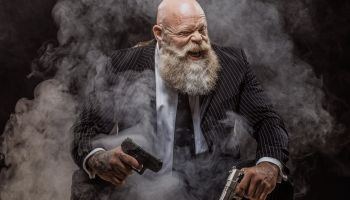 Senior Gangster Mafia Man