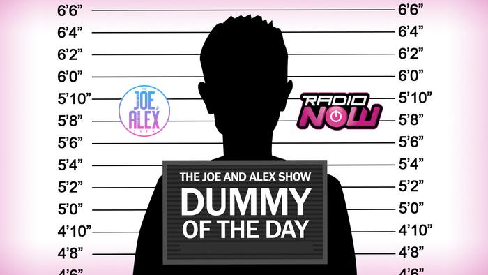 Dummy of the Day Logo (Joe & Alex Show)