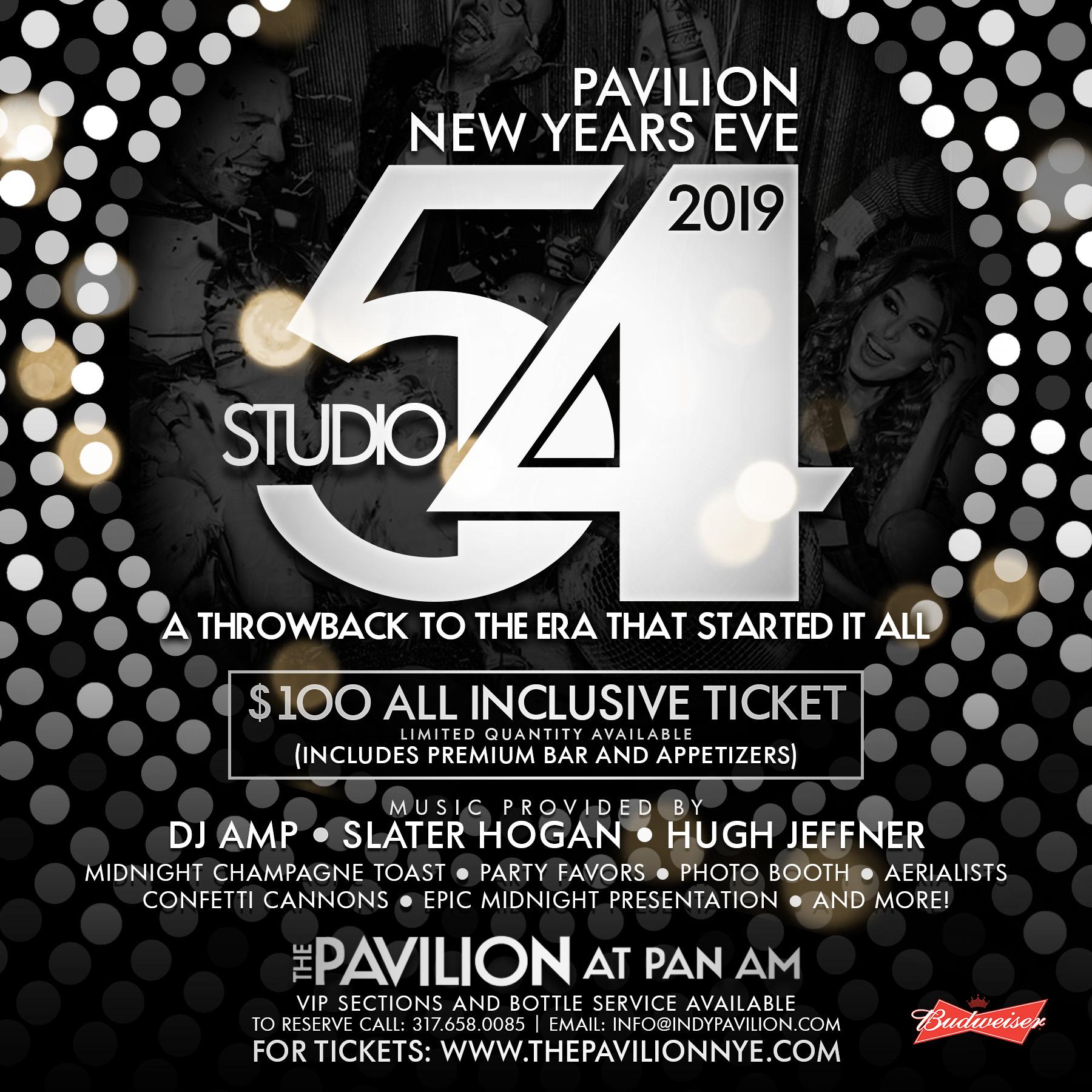 Pan Am Studio 54