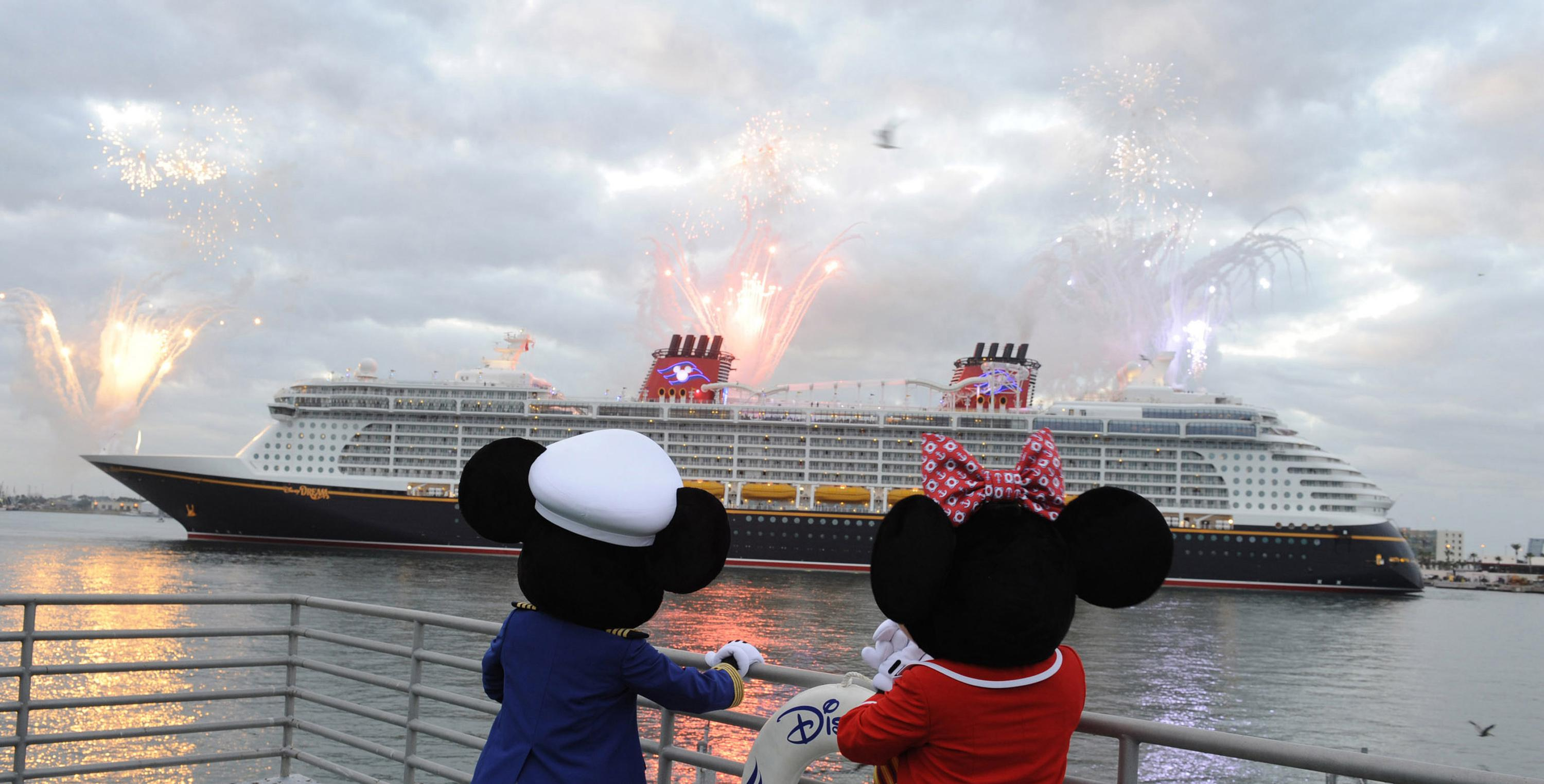 The Disney Dream, Disney Cruise Line's Newest Ship Arrives For The First Time To Her Home Port