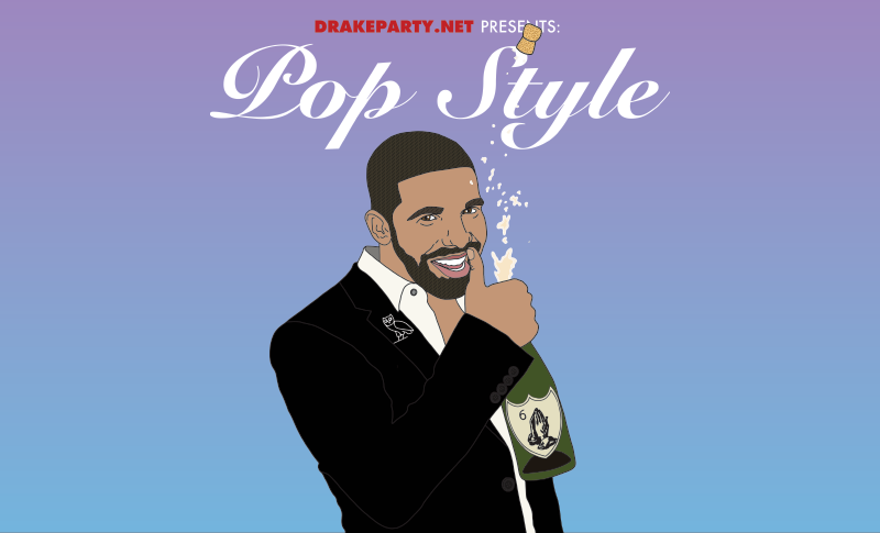 Drake Party - Pop Style Indy Flyer