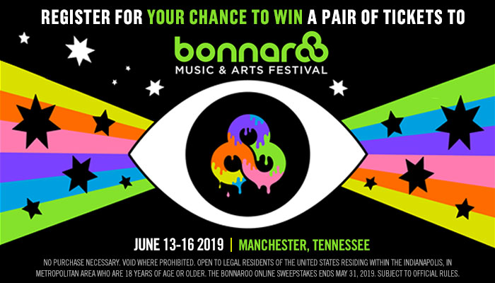 The Bonnaroo online sweepstakes