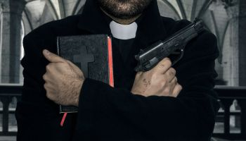 Corruption in the church, bibles and weapons