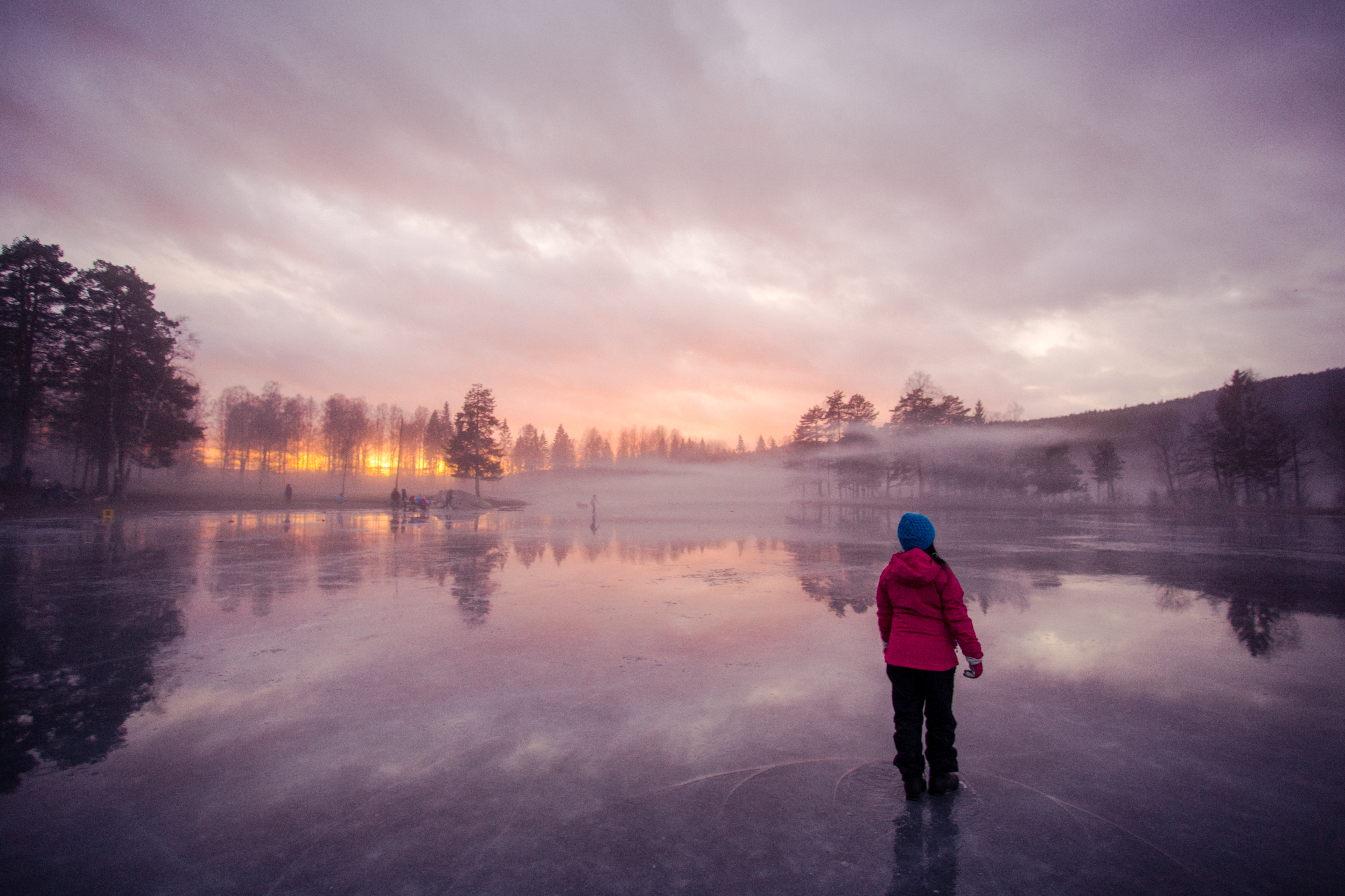 Walking on the ice