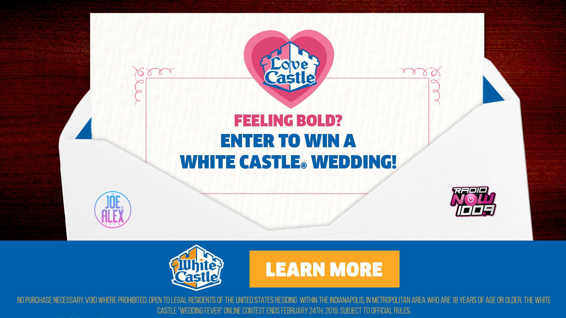White Castle Wedding 2019 Graphics