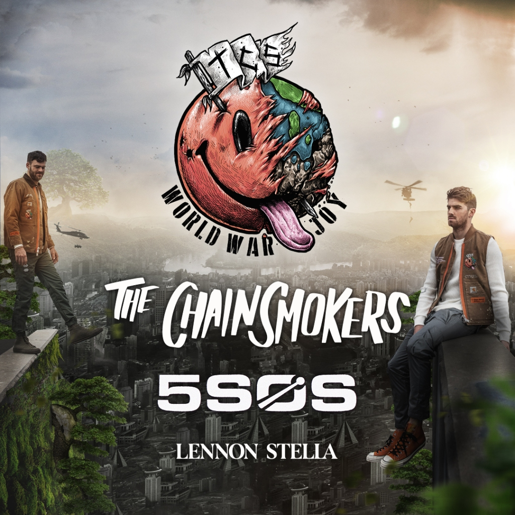 The Chainsmokers with 5SOS and Lennon Stella Graphic