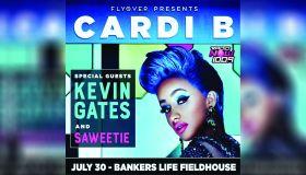 Cardi B Tour Graphic - Indianapolis