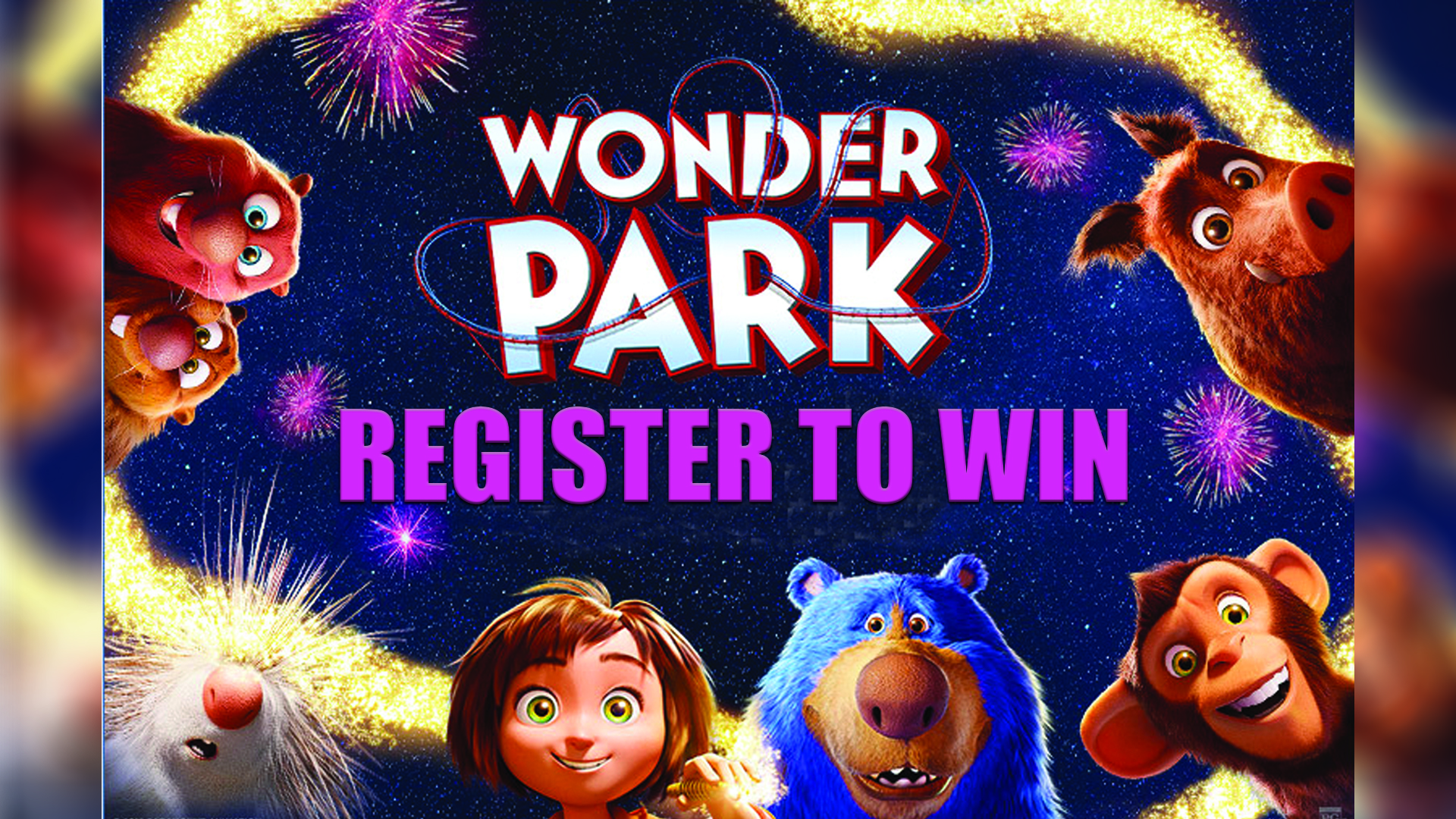 The Wonder Park – Family Flyaway Sweepstakes
