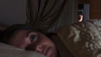 Window Prowler - 31 yo Frightened Woman