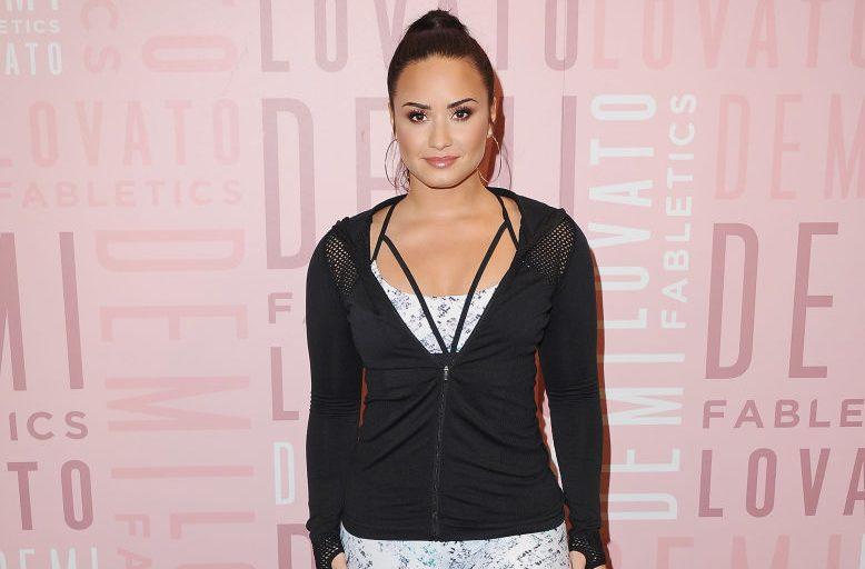 Demi Lovato Visits Fabletics At Del Amo Fashion Center - Arrivals
