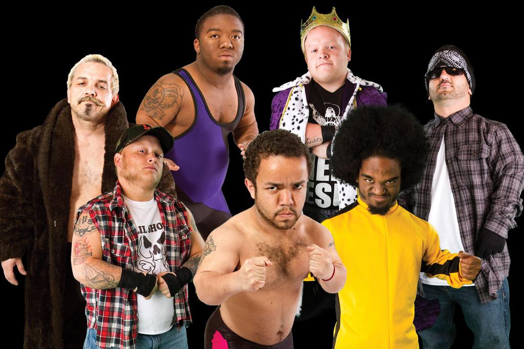 Extreme Midget Wrestling Indy Graphic