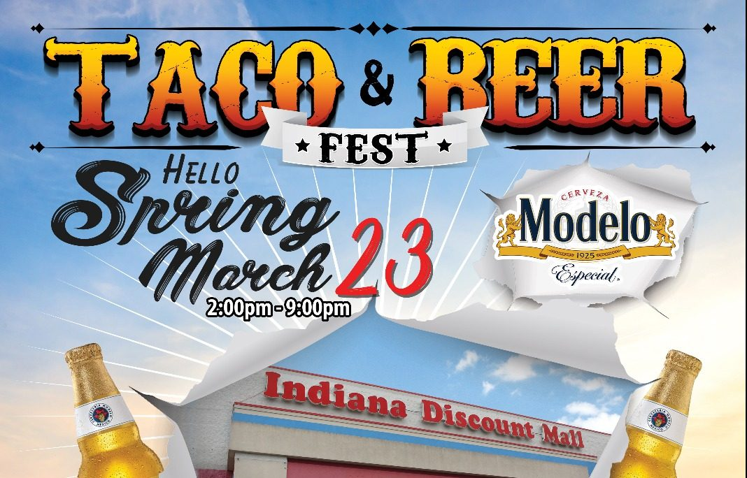 Indy Taco & Beer Fest March Flyer
