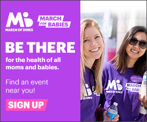 2019 March of Dimes at March for Babies Flyer