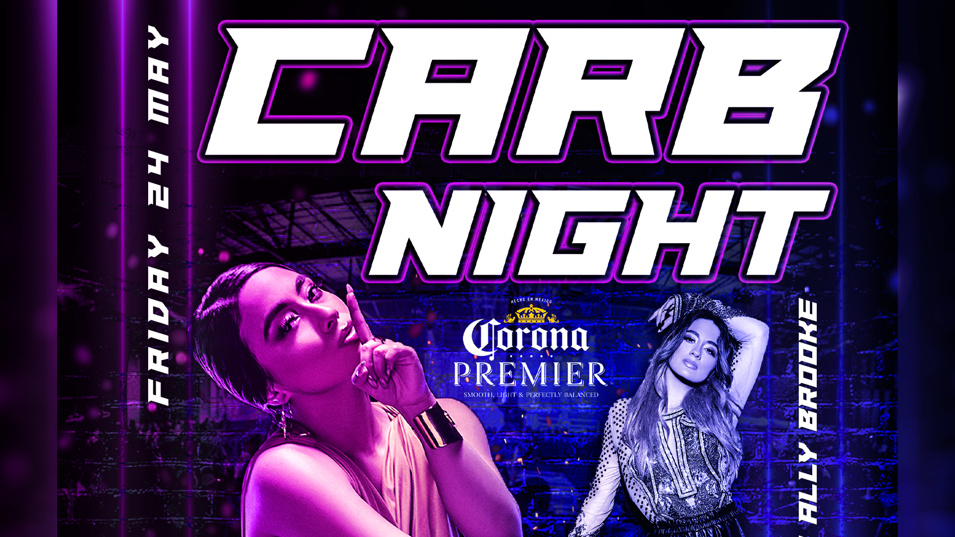 2019 Carb Night Party Flyer