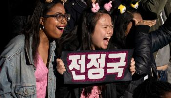 Fans Come Out In Droves To See K-Pop Band BTS Perform In Central Park