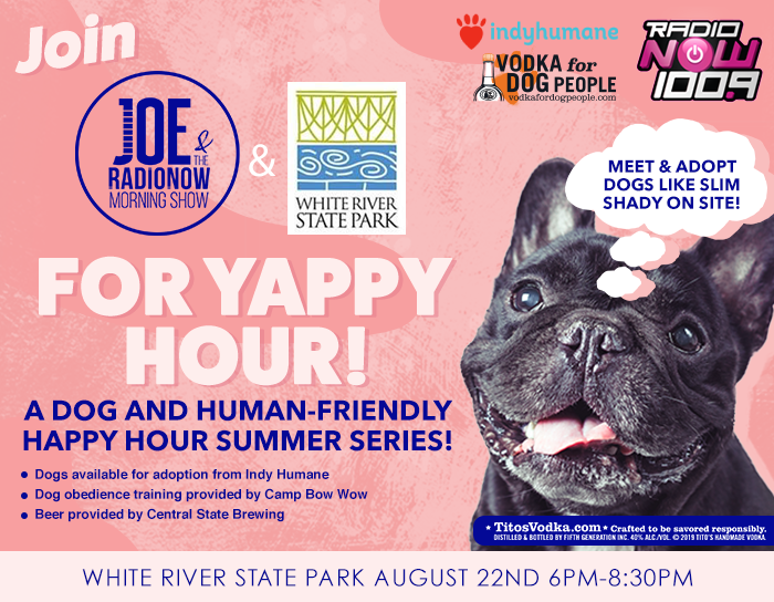 Yappy Hour August 2019