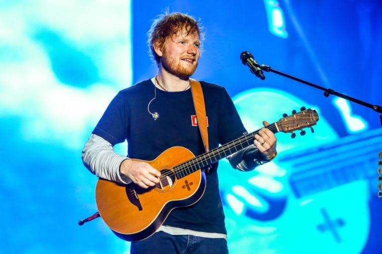 Edward Christopher Sheeran, English singer, songwriter,...