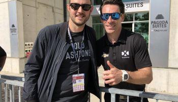 Dustin Kross and Simon Pagenaud