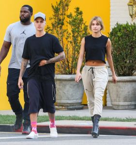Justin Bieber and Hailey Baldwin in Beverly Hills